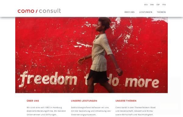 Vorschau von como-consult.de, COMO Consulting für Projektmanagement und Organisation GmbH
