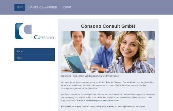 Vorschau von www.consono.de, Consono Consult GmbH
