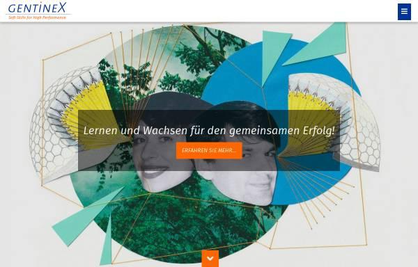 Vorschau von www.gentinex.de, GentineX GmbH & Co. KG