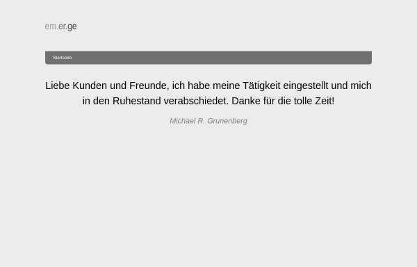 Vorschau von www.grunenbergconsulting.de, Grunenberg Training & Consulting GmbH