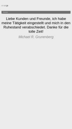 Vorschau der mobilen Webseite www.grunenbergconsulting.de, Grunenberg Training & Consulting GmbH