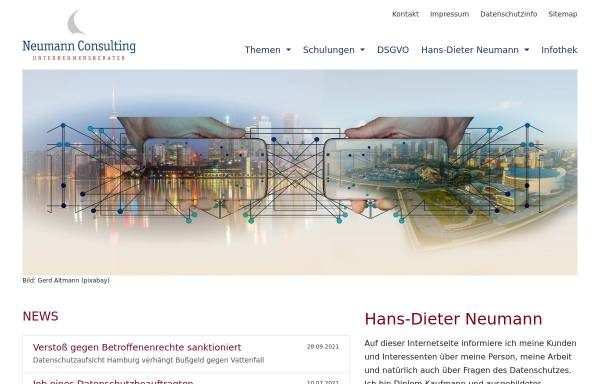 Vorschau von www.neucon.de, Hans-Dieter Neumann