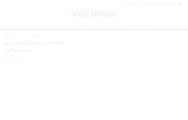 Vorschau von www.angermann.de, Horst F.G. Angermann GmbH