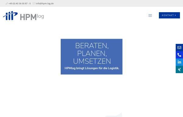 Vorschau von www.hpm-log.de, HPMlog Project & Management Consultants GmbH