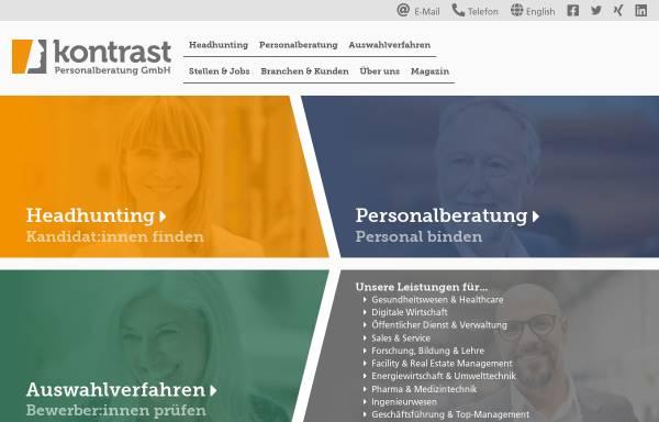 Vorschau von www.kontrast-consulting.de, Kontrast Unternehmensberatung