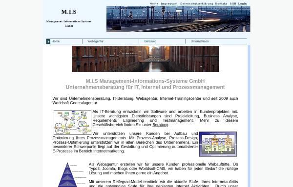 Vorschau von www.mishamburg.de, M.I.S Management-Informations-Systeme GmbH