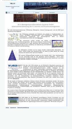 Vorschau der mobilen Webseite www.mishamburg.de, M.I.S Management-Informations-Systeme GmbH