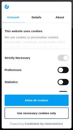 Vorschau der mobilen Webseite www.putzundpartner.de, Putz & Partner Unternehmensberatung AG