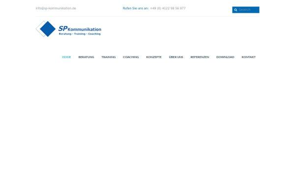 Vorschau von www.sp-kommunikation.de, Sp Kommunikation Beratung + Training GbR