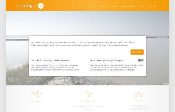 Vorschau von www.strategie-m.de, Strategie M Unternehmensberatung GmbH