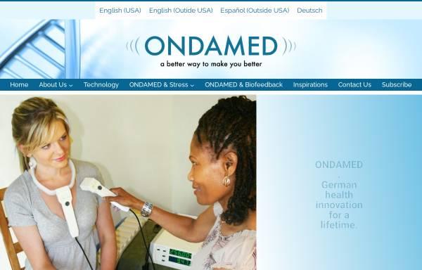 Vorschau von www.ondamed.de, Binder GmbH