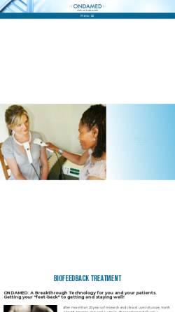 Vorschau der mobilen Webseite www.ondamed.de, Binder GmbH