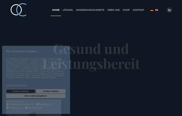 Vorschau von www.oxygenconcept.de, Oxygenconcept Klauenberg GmbH