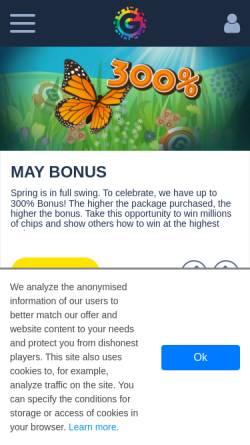 Vorschau der mobilen Webseite www.gamedesire.com, Gamedesire.de