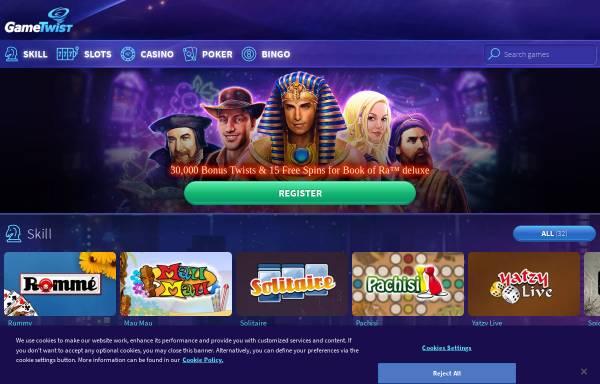 Vorschau von www.gametwist.com, Gametwist
