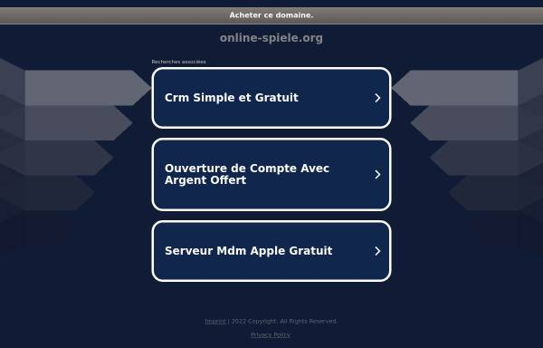 Vorschau von www.online-spiele.org, Online-Spiele.org