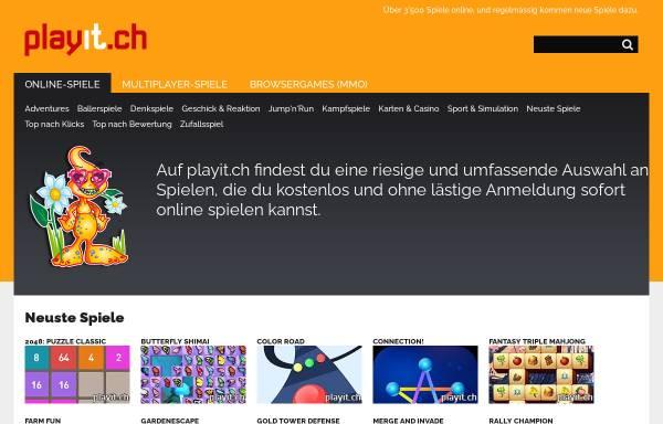 Vorschau von playit.ch, PlayIt.ch