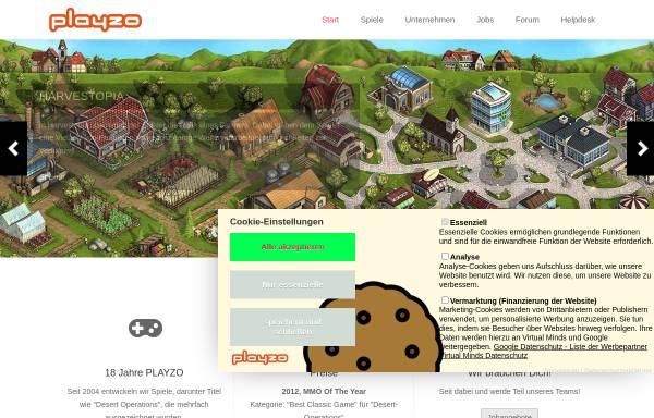 Vorschau von www.playzo.de, Playzo