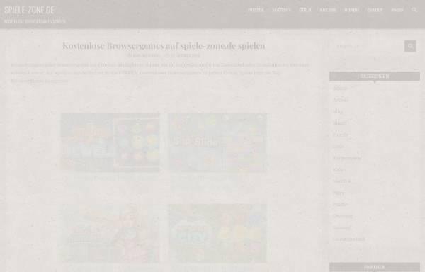 Vorschau von www.spiele-zone.de, Spiele-Zone.de