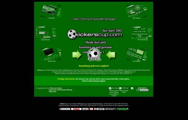 Vorschau von www.kickerscup.de, KickersCup