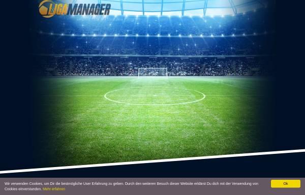 Vorschau von www.liga-manager.de, Liga Manager