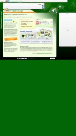 Vorschau der mobilen Webseite weltfussballmanager.de, Weltfussballmanager