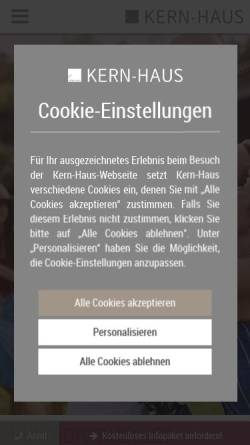 Kern-Haus AG in Ransbach-Baumbach: Wirtschaftsdienste, Wohnungsbau ...