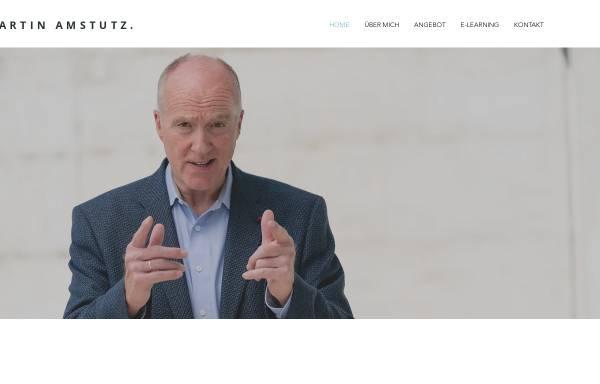 Vorschau von www.amstutz-trainings.ch, Amstutz Führung und Marketing - Martin Amstutz