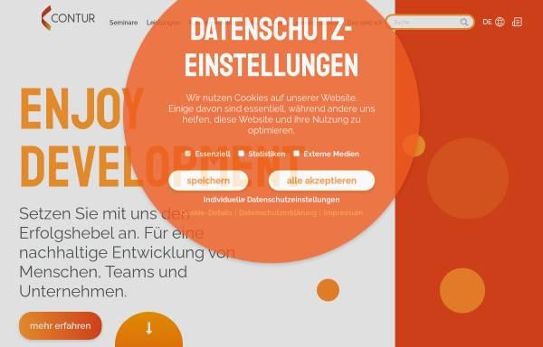 Vorschau von www.contur-online.de, CONTUR GmbH Consulting I Training