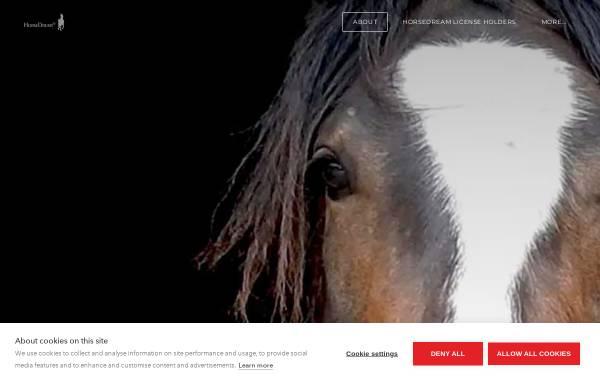 Vorschau von www.horsedream.de, G&K HorseDream GmbH Private Akademie für Pferde, Führung und Kommunikation ZEIDLERHOF Oberbeisheim