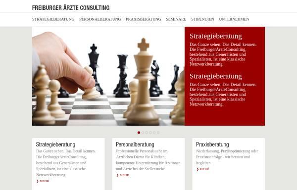 Vorschau von www.freiburgeraerzteconsulting.de, Freiburger Ärzte Consulting, Inh. Thomas Dannecker