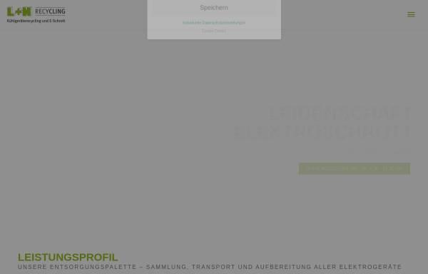 Vorschau von www.luntec40.de, L + N Recycling GmbH