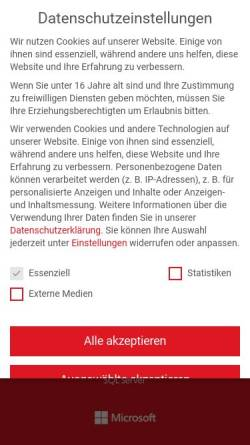 Vorschau der mobilen Webseite www.ntsystems.de, NT SYSTEMS - Schulungen