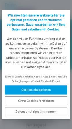 Vorschau der mobilen Webseite www.fdp-friedrichsdorf.de, FDP Friedrichsdorf