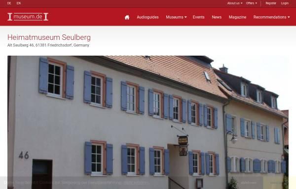 Vorschau von www.museum.de, Heimatmuseum Seulberg