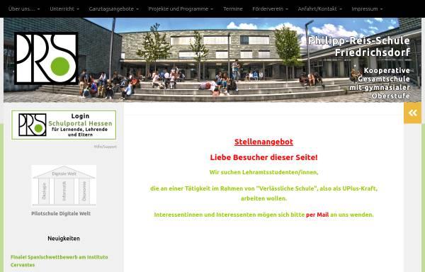 Vorschau von www.philipp-reis-schule.de, Philipp-Reis-Schule