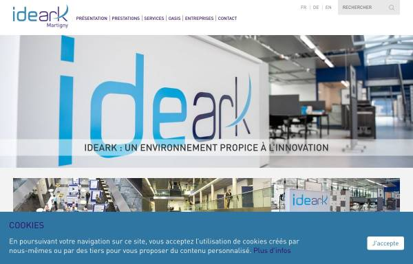 Vorschau von www.ideark.ch, IdeArk SA