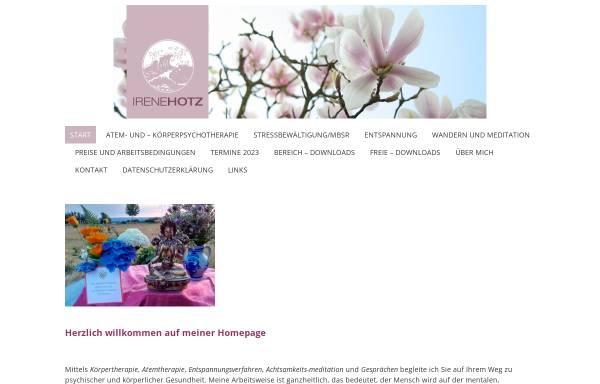 Vorschau von www.stressbewaeltigung-taunus.de, Stressbewältigung Irene Hotz