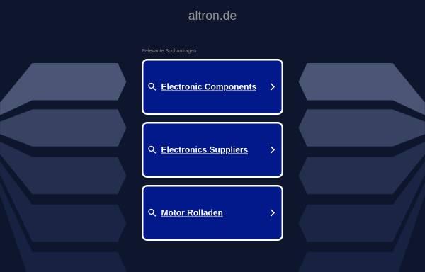 Vorschau von www.altron.de, Altron GmbH & Co. KG