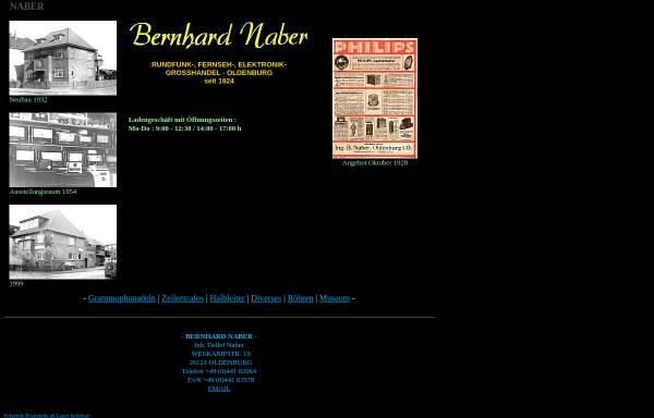 Vorschau von www.bernhard-naber.de, Bernhard Naber