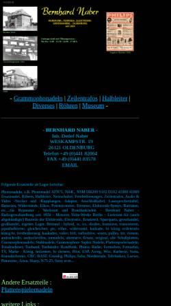 Vorschau der mobilen Webseite www.bernhard-naber.de, Bernhard Naber