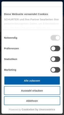Vorschau der mobilen Webseite www.beb.co.at, Burisch Elektronik Bauteile GmbH