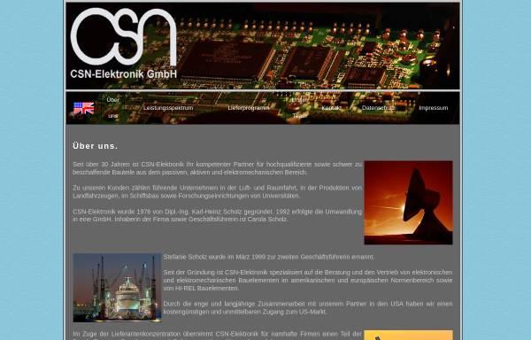 Vorschau von www.csn-elektronik.de, CSN Elektronik GmbH