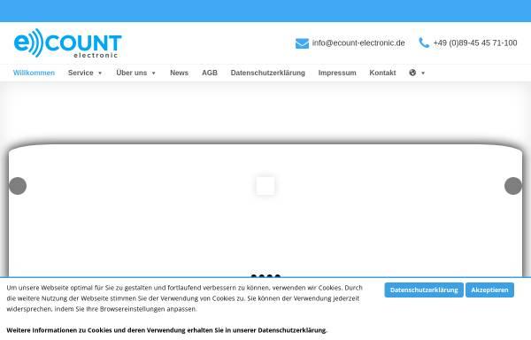 Vorschau von www.ecount-electronic.de, ECount GmbH