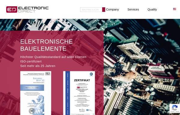 Vorschau von www.electronic-direct.com, Electronic Direct GmbH