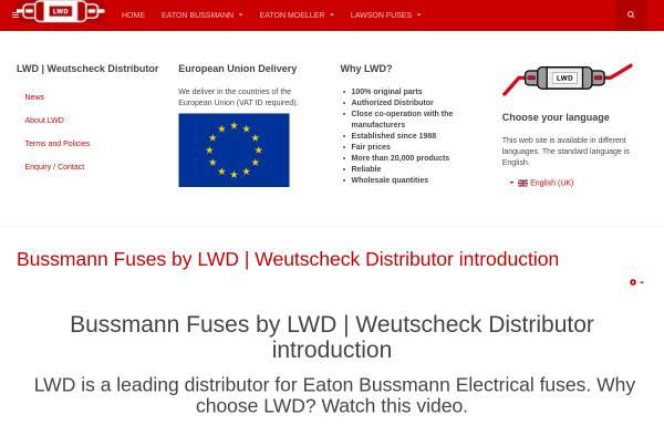 Vorschau von weutscheck.com, Lieselotte Weutscheck Distributor