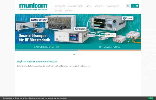 Vorschau von www.municom.de, Municom GmbH