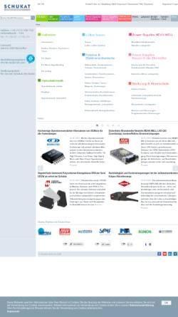 Vorschau der mobilen Webseite www.schukat.com, Schukat electronic Vertriebs GmbH