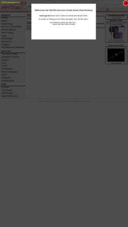 Vorschau der mobilen Webseite www.segor.de, SEGOR-electronics GmbH