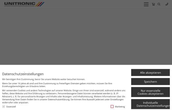 Vorschau von www.unitronic.de, Unitronic AG